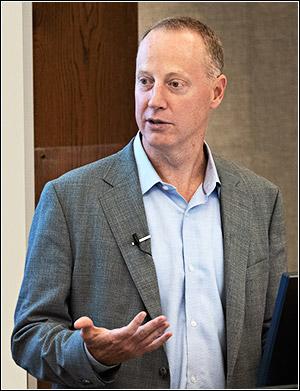 Patrick Conway, CEO of North Carolina Blue Cross and Blue Shield