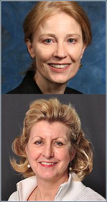 Patricia D'Antonio and Connie Ulrich, Penn Nursing School;