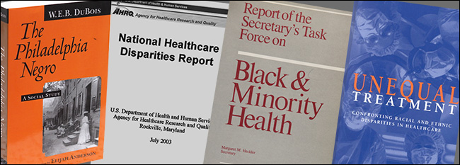 Documents of racial disparities in health care