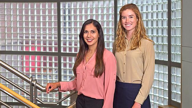 Solymar Torres Maldonado and Katherine (Kara) Freeman, Penn Medicine MD Candidates