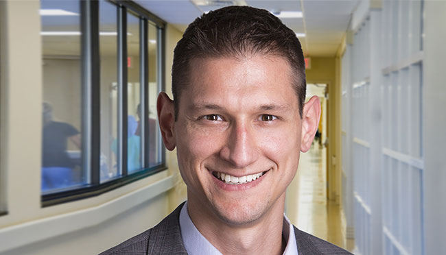 Matthew Miclette, former U.S. Army Officer and health policy researcher