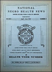Negro Health News from 1933
