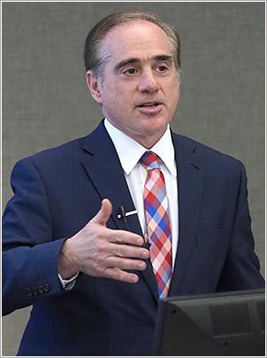 David Shulkin, speaking at Penn