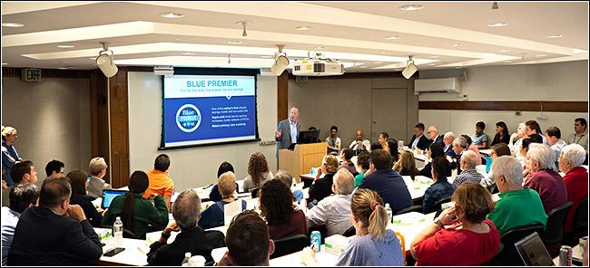Patrick Conway, MD, speaks at Penn's Leonard Davis Institute of Health Economics (LDI)