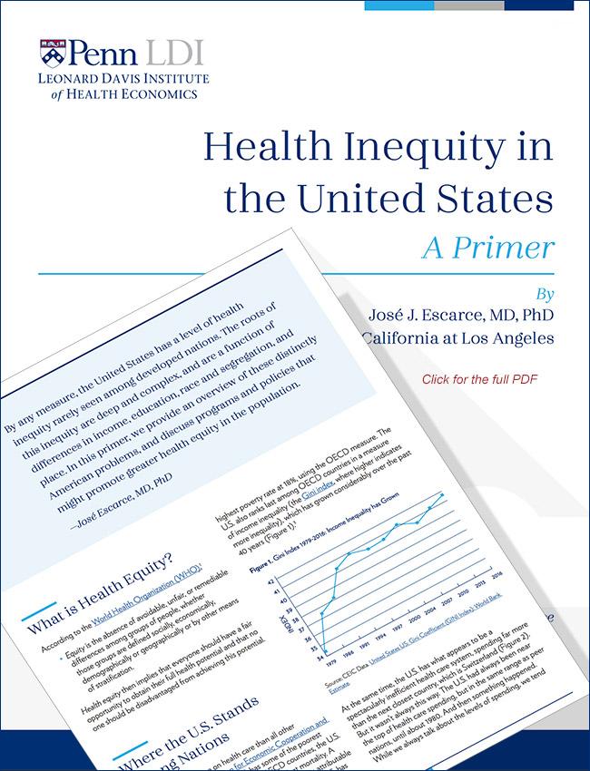 health inequity in the U.S.