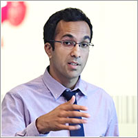 Atheendar Venkataramani, MD, at the Leonard Davis Institute of Health Economics