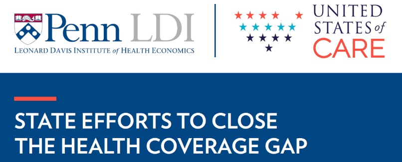 State Efforts To Close The Health Coverage Gap Ldi