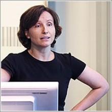 Zuleyha Cidav, PhD, at the Leonard Davis Institute of Health Economics