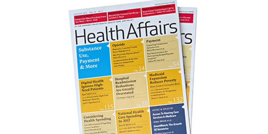 Health Affairs Journal Convenes Own National Council on
