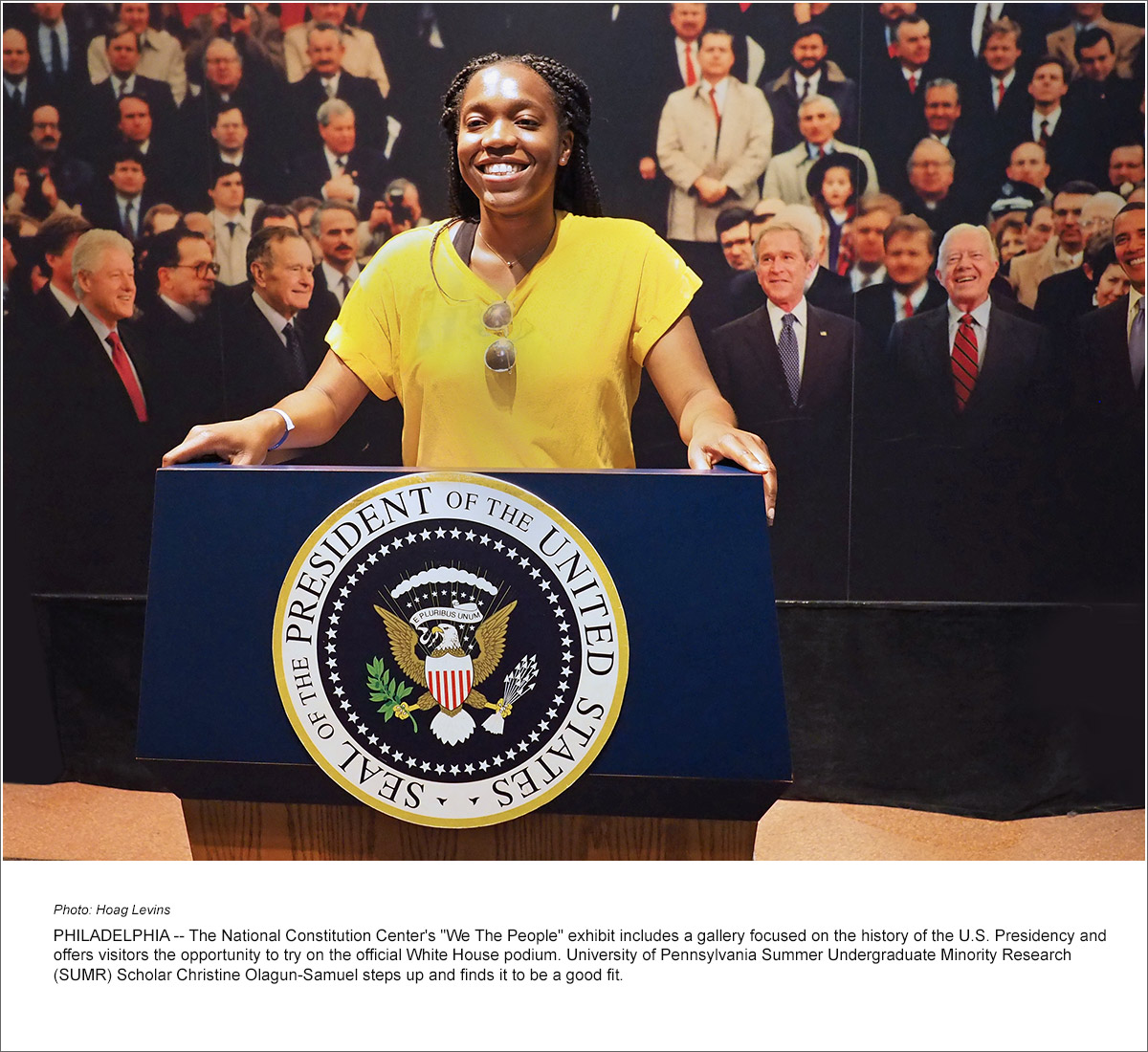 SUMR Tours Constitution Center, African American Museum