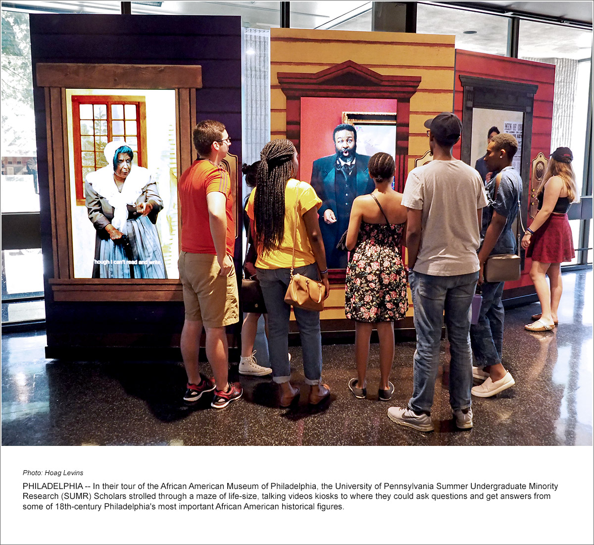 Sumr Tours Constitution Center African American Museum Reading