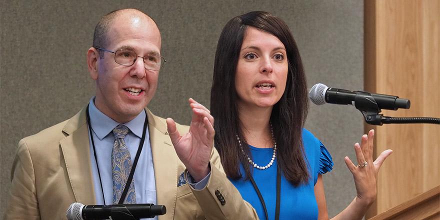David Mandell and Rinad Beidas, University of Pennsylvania researchers