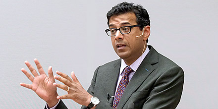 Atul Gawande of Harvard University