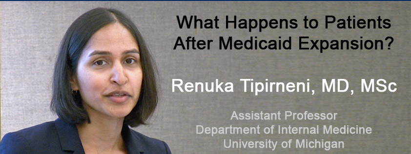 Renuka Tipirneni speaks about Medicaid