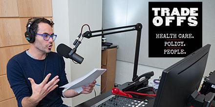 Dan Gorenstein in radio studio